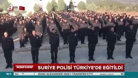 Suriye polisi Türkiye'de eğitildi