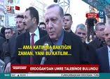Cumhurbaşkanı Erdoğan A Haber'e konuştu