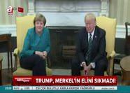 Trump'tan Merkel'e şok tavır!