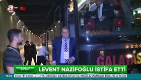 Levent Nazifoğlu'ndan istifa kararı!
