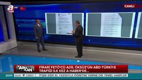 FETÖ'cü Adil Öksüz'ün ABD-Türkiye trafiği