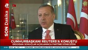 Cumhurbaşkanı Erdoğan: Süre uzarsa millete gideriz!