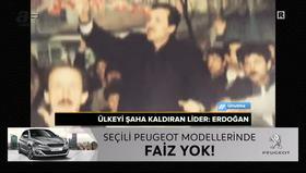 Türkiye'yi şaha kaldıran lider: Erdoğan