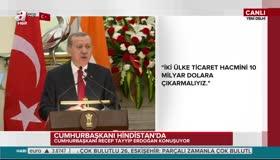 Erdoğan'dan Hindistan'a FETÖ uyarısı