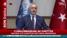 Cumhurbaşkanı Erdoğan resmen AK Parti üyesi