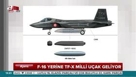 F-16 yerine TF-X milli uçak geliyor