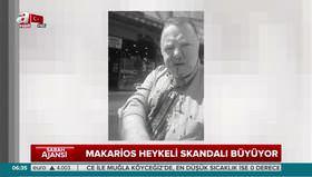 Heykel skandalını haber yapan gazeteci dövüldü