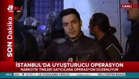 Canlı yayında dev uyuşturucu operasyon