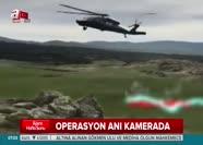 29 PKK'lının öldürüldüğü operasyon kamerada