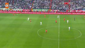 Türkiye Kupası finalinde tribünler karıştı