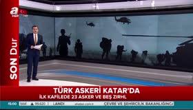 Türk askeri Katar'a giriş yaptı