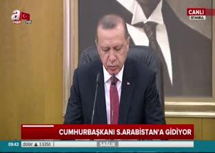 Cumhurbaşkanı Erdoğan'dan Müslümanlara çağrı