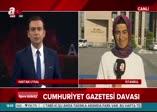 A Haber canlı yayınına çirkin saldırı