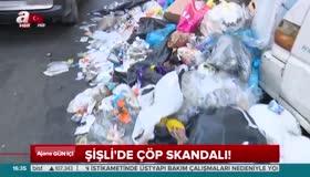 CHPli Şişli Belediyesinde çöp skandalı