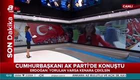 Cumhurbaşkanı Erdoğan AK Partide konuştu