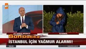 ATV muhabirinin zor anları