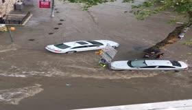 Yağış Ortaköyü vurdu