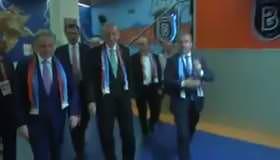 Cumhurbaşkanı Erdoğan, Başakşehir takımının futbolcularını kutladı