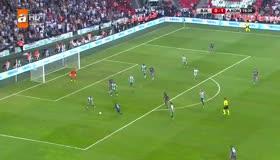 Beşiktaş, Cenk Tosunun golüyle beraberliği yakaladı