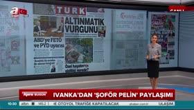 Otobüs şoförü Pelin, Trumpın kızı Ivankayı Edirneye davet etti