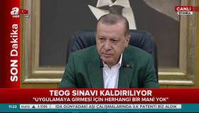 Erdoğan: Çocukluk hikayesiymiş, böyle şey olur mu ya