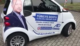 Almanyada Erdoğanlı seçim turu!