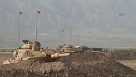 Irak askerleri de Habur tatbikatına katıldı